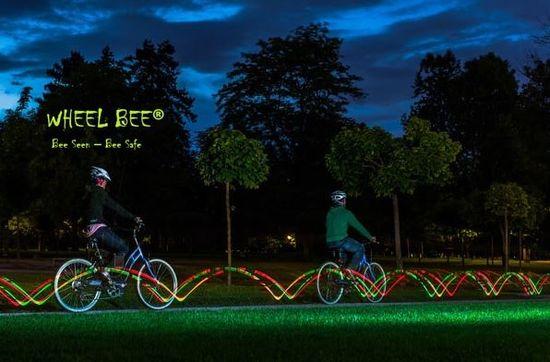 Wheel Bee kolesarska svetilka LED Cycle Bee Twister