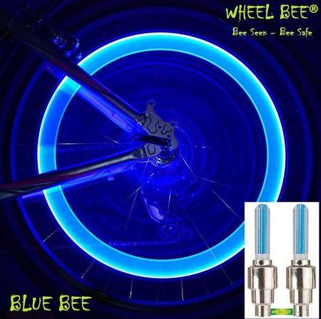 Wheel Bee kolesarska svetilka LED Cycle Bee, modra