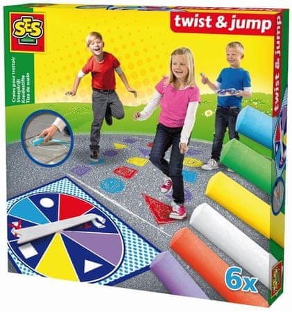 SES družabna igra Twist & Jump