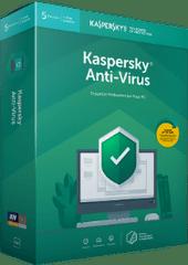 Kaspersky licenca za protivirusno programsko opremo Anti-Virus, 3 PC, 1 leto