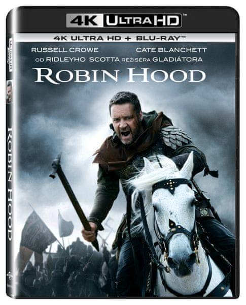 Robin Hood (2 disky) - Blu-ray + 4K ULTRA HD