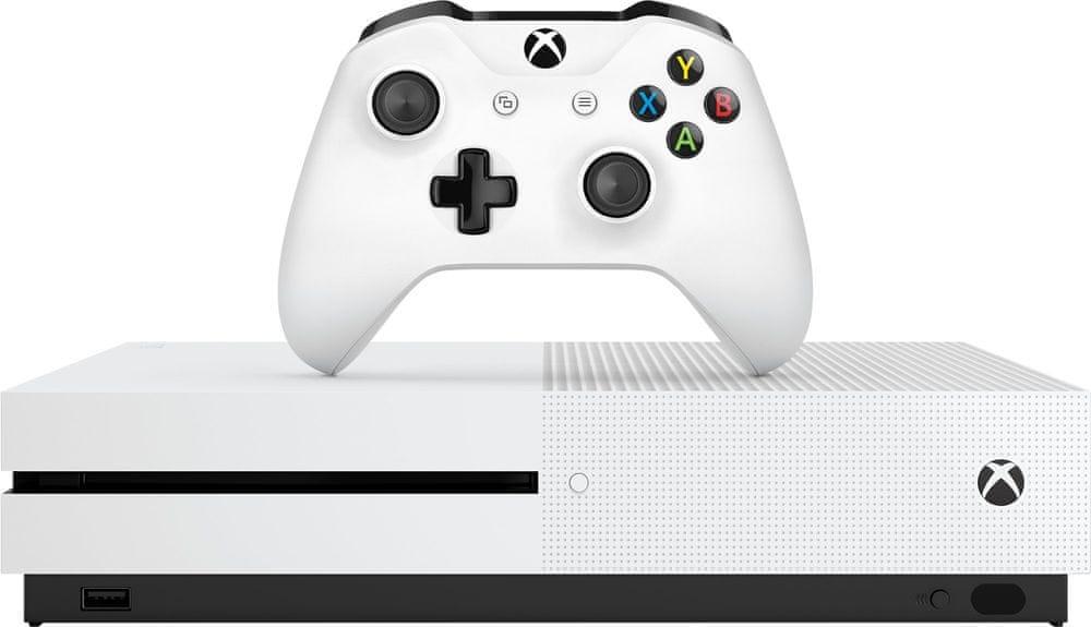 Microsoft Xbox One S 1TB + Battlefield V Deluxe Edition - použité