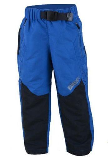 7574c6cb1e21 PIDILIDI Chlapecké outdoorové kalhoty s fleecem 134 modré