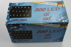 Seizis oświetlenie świąteczne - sieć 300 LED, biała