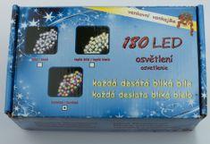 Seizis Vánoční osvětlení 180 LED, IP44, barevné