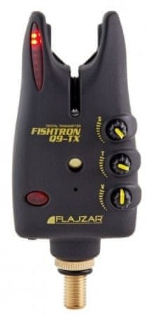 Flajzar signalizátor Fishtron Q9 TX Modrá, 2xLR1