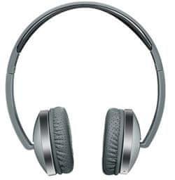 Canyon Bluetooth bezdrátová skládací sluchátka, bluetooth 4.2, šedé CNS-CBTHS2DG