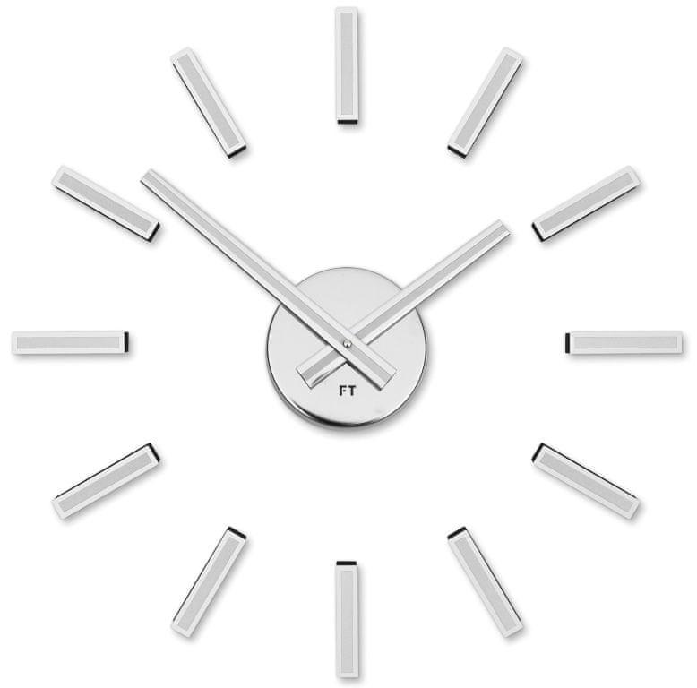 Future Time Designové nalepovací hodiny FT9400WH Modular white 40cm
