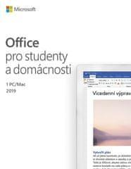 Microsoft Office 2019 pre študentov a domácnosti (79G-05078)