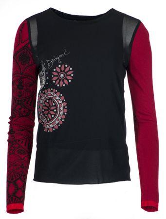 Desigual bluzka damska Glen, S, czarna