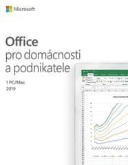 Microsoft Office 2019 pre domácnosť a podnikateľov (T5D-03195)