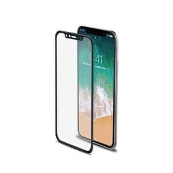 Celly 3D Glass pro Apple iPhone X/XS, černé (sklo do hran displeje, anti blue-ray) 3DGLASS900BK