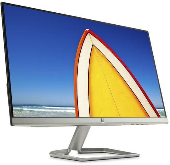 """HP monitor 24f, FHD 1920 x 1080, IPS, 60,45 (23,8""""), srebrn"""