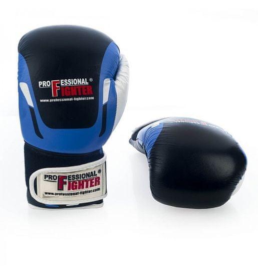 """PROFESSIONAL-FIGHT Boxerské rukavice """"Modern"""", modrá 12oz"""