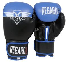 "REGARD Boxerské rukavice ""Never Blue"" 10oz"