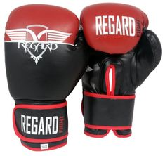 "REGARD Boxerské rukavice ""Never Red"" 10oz"