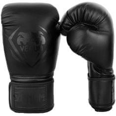 "VENUM Boxerské rukavice ""Contender"", čierna/čierna 12oz"