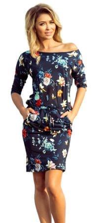 Numoco ženska haljina, tamno plava, S