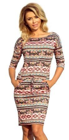 Numoco ženska haljina S šarena