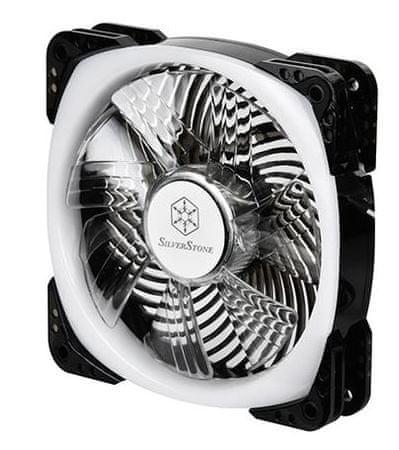 Silverstone ventilator za ohišje AP124-ARGB, 120 mm