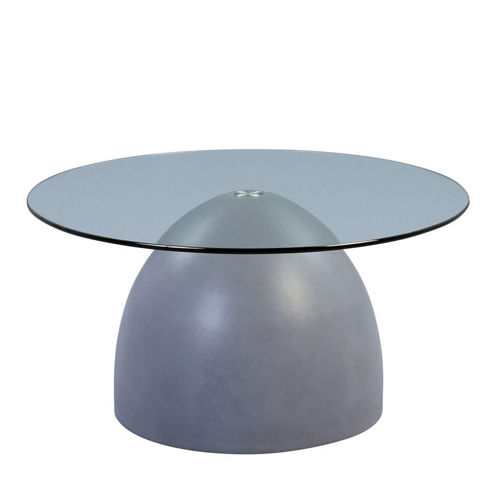 Artenat Konferenční stolek skleněný Tudor, 90 cm