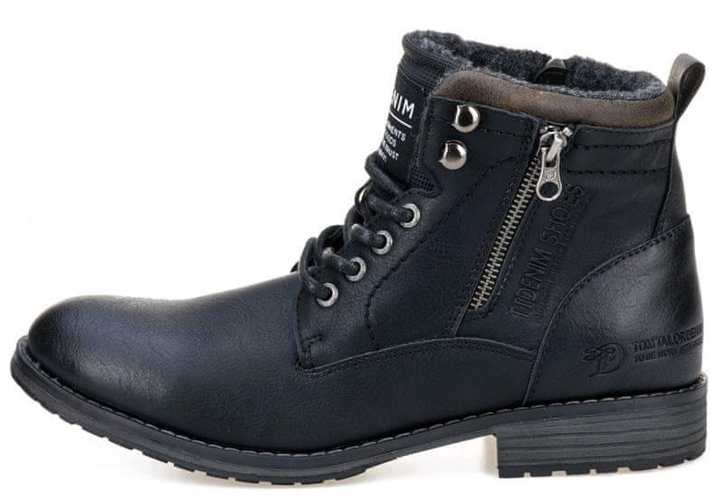 8ac1dc38a0 Tom tailor panska kotnickova obuv 45 hneda levně