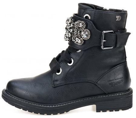 Tom Tailor dámská kotníčková obuv 36 čierna