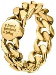 Tommy Hilfiger Fashion pozlátený prsteň TH2700967 (Obvod 58 mm)