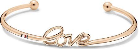 Tommy Hilfiger Pevný bronzový náramok Love TH2700968