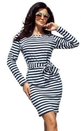 233df4373ca2 Numoco dámské šaty XXL tmavo modrá
