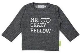 Dirkje chlapecké tričko Mr.Crazy 86 šedá