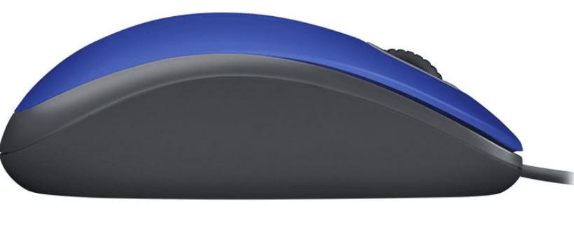 Logitech M110 Silent, modrá (910-005488)