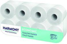 Papír toaletní Harmony Professional 2-vrstvý / 8 ks