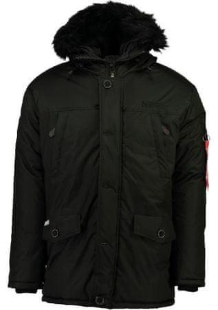 Geographical Norway férfi kabát Dagobert L fekete