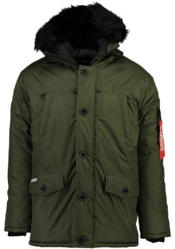 Geographical Norway pánská bunda Dagobert S khaki a27231e96a