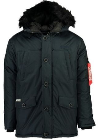 Geographical Norway férfi kabát Dagobert S sötétkék