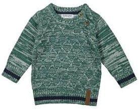 Dirkje sweter chłopięcy w paski 110 zielony
