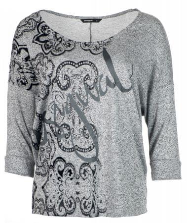 Desigual ženska majica Nisa, siva, S