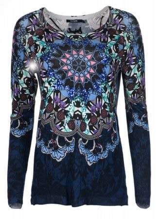 Desigual Munich női pulóver, S sötétkék