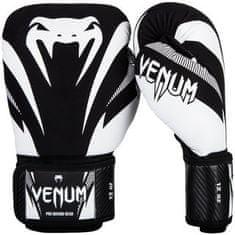 "VENUM Boxerské rukavice ""Impact"", čierna/biela 16oz"