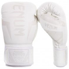 "VENUM Boxerské rukavice ""Elite"", biela 10oz"