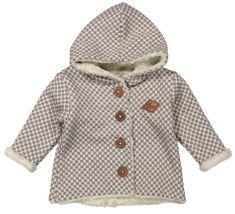 Dirkje dívčí kabátek s retro puntíky