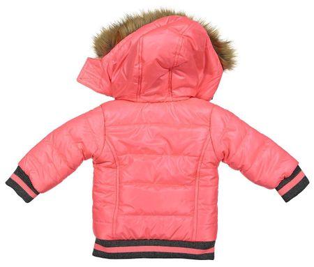 Dirkje lány kabát szőrmével 116 rózsaszín  197b4c9209