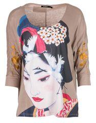 Desigual dámské tričko Madame Butterfly