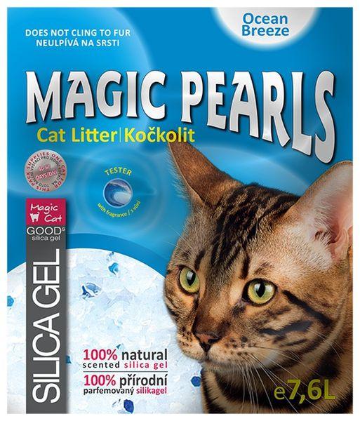 Magic Kočkolit Magic Pearl Ocean Breeze 7,6l