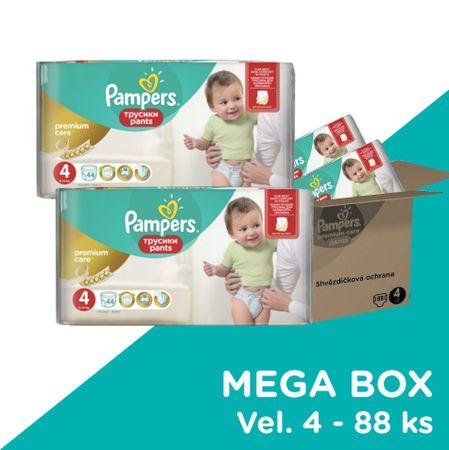 Pampers pieluchomajtki Premium Pants Mega Box S4 88 szt.