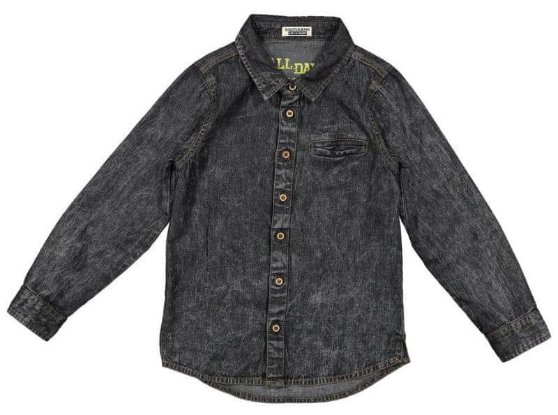 Dirkje chlapecká košile 104 černá f2d2bd9684