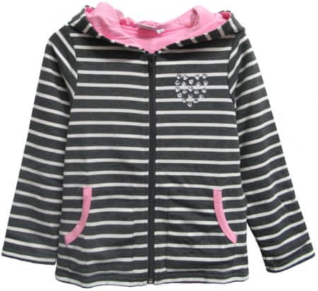 Topo lány pulóver 110 szürke