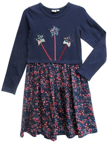 Topo dívčí šaty 98 modrá