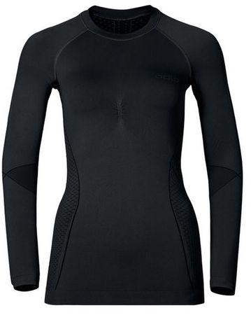ODLO ženska majica Evolution Warm, L, črna